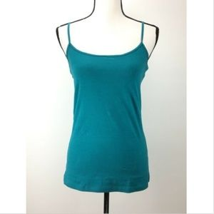 NWT Halogen Absolute Camisole Scoop Neck Spaghetti